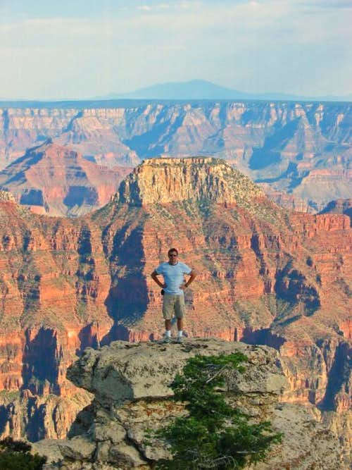 Joseph at North Rim