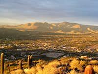 Black Mountain sunset