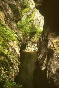 Corcoaia Gorge, taken in 1979