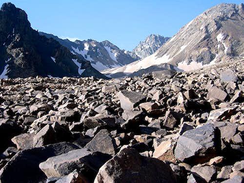 Siah Sang, North Face