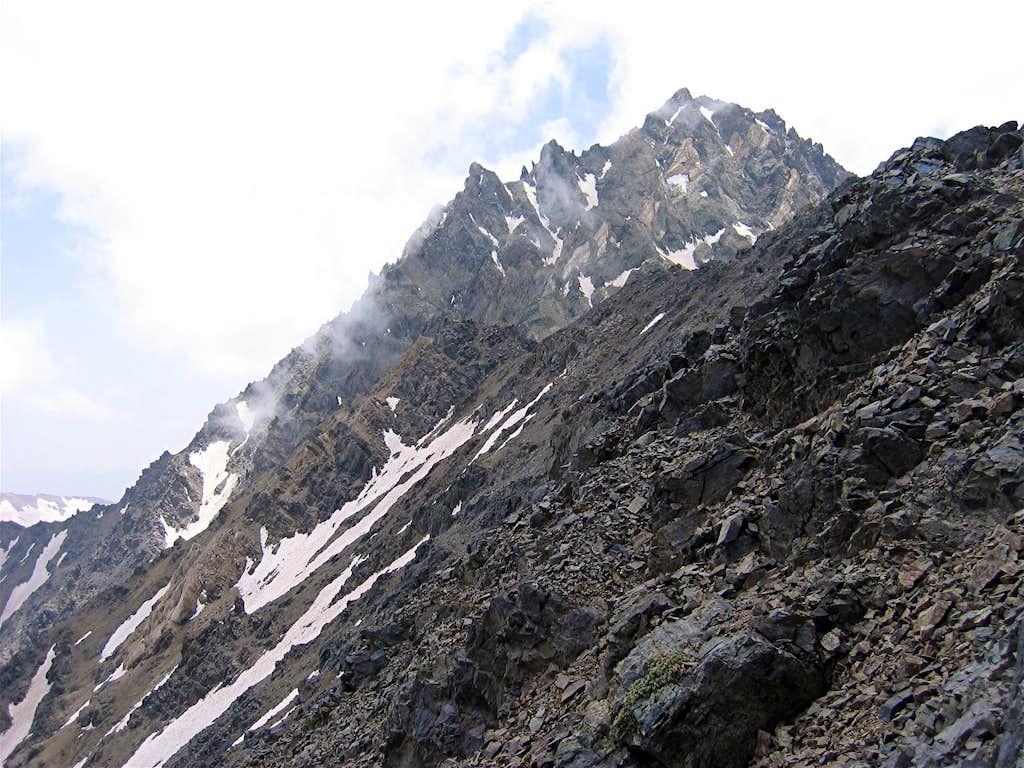 Summit of Siah Sang