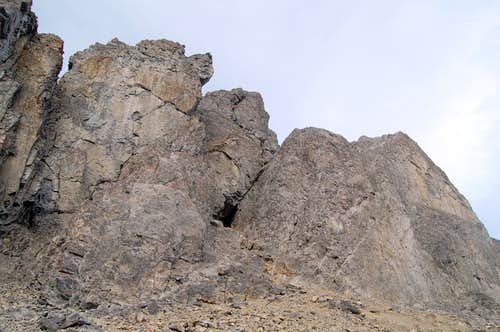 The North Summit of Mt Edith
