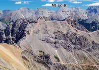 Mt Edith Summit Traverse