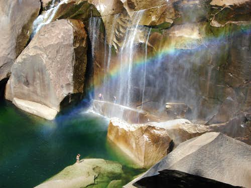 Vernal Falls- the end
