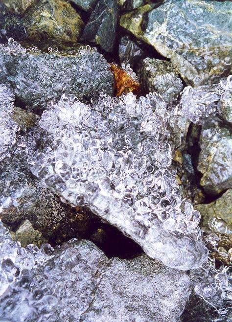 An interesting ice exhibit...