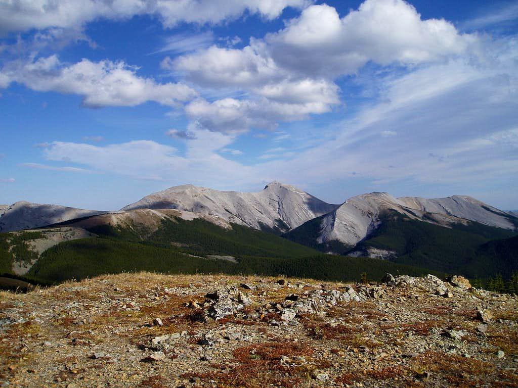 Moose Mountain from Powderface Summit
