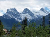 Three Sisters, Kananaskis