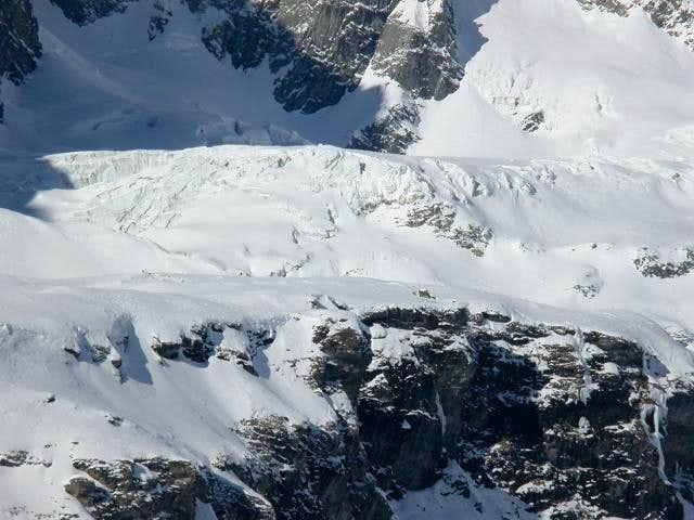 il ghiacciaio del Chérillon