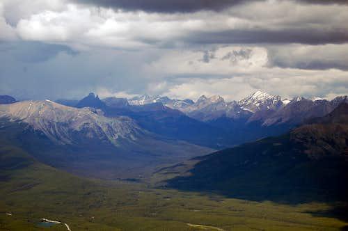 Mt Fairview Summit Looking NE