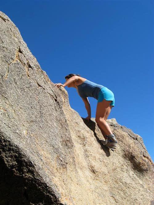 Rock Climbing in JTNP