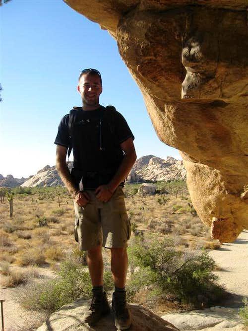 In the Native Cave Near Barker Dam