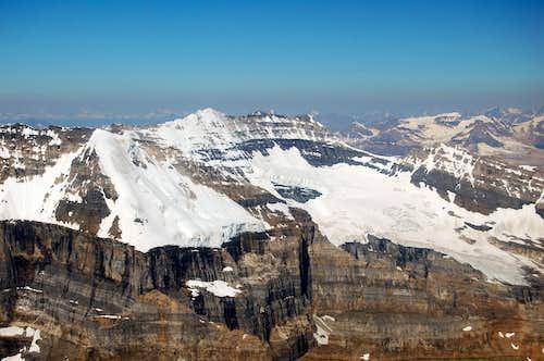 Mt Victoria & Mt LeFroy