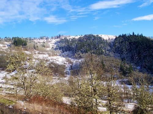 Mt Pisgah/west side view