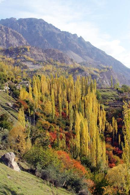 Autumn in Skardu and Hunza