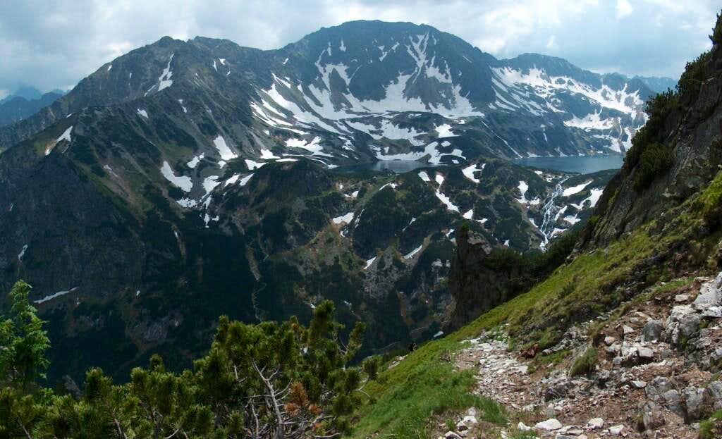 Tatra's 5 lakes Valley (Dolina Pięciu Stawów) as seen from the trail to Krzyżne