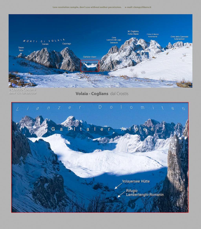 Monti di Volaia-Coglians / Hohe Warte