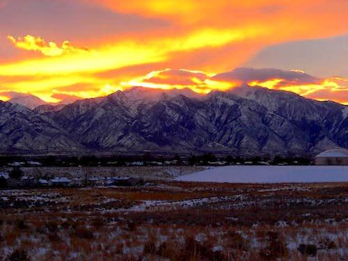 Alpine Ridge Sunrise.