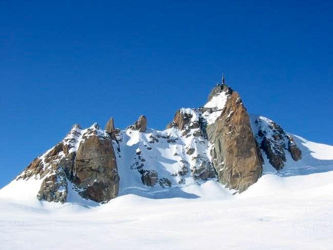 Aiguille du Midi seen from...