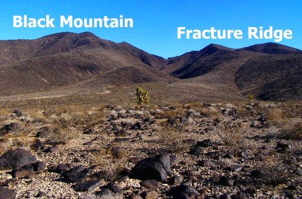 Black Mountain and Fracture Ridge