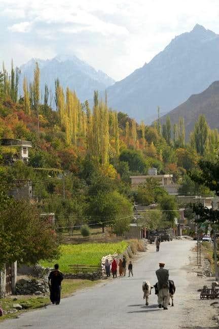 Autumn in Hunza Pakistan