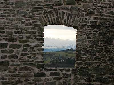 Window with view