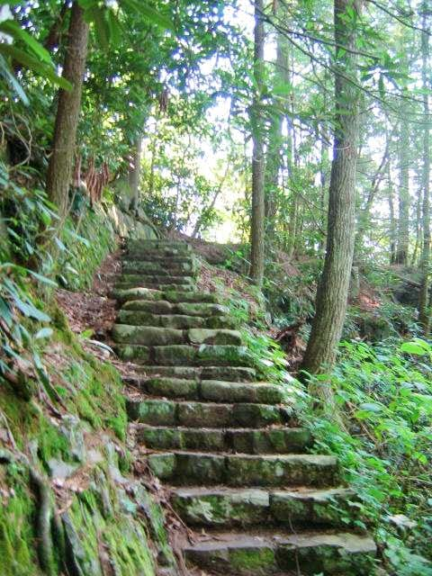 Stairs at Backbone Rock