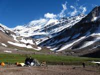 Cerro el Plomo from Piedra Numerada
