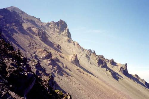 Upper slopes of Mt....