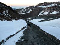 Trail above La Olla