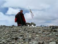 Cerro el Plomo Summit shot
