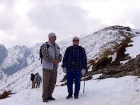 Descending Kasprowy Wierch (1987 m).