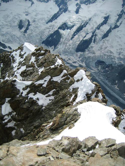 Schreckhorn SW ridges