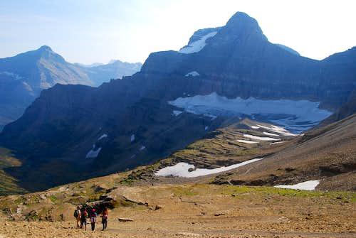 south of Siyeh Pass