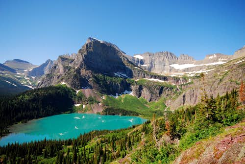 Mount Gould and Grinnell Lake