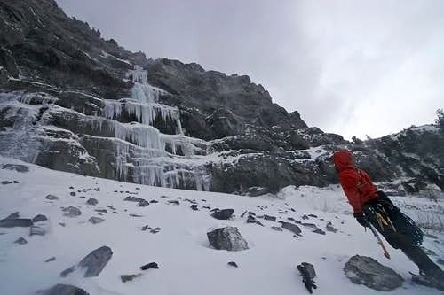 Stairway to Heaven, Provo Canyon, Ice Climbing