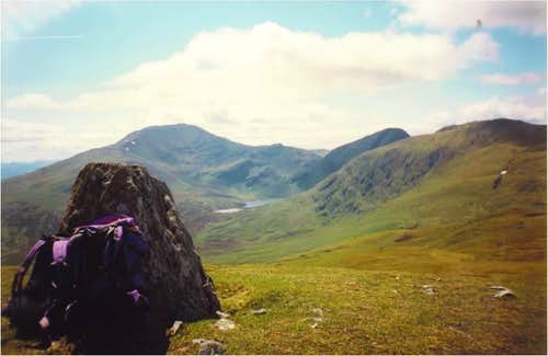 Ben Lawers from Meall Greigh