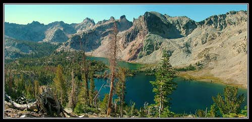 Twin Lakes, above Alice Lake
