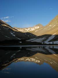 Gladstone Peak Reflection