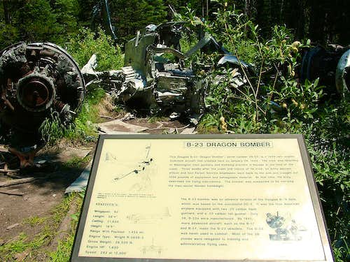 B-23 Crash Site #1