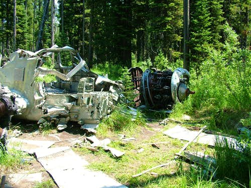 B-23 Crash Site #3