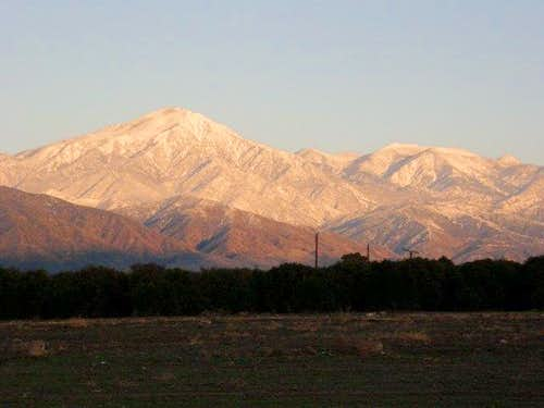 San Bernardino Mountains in Wintertime