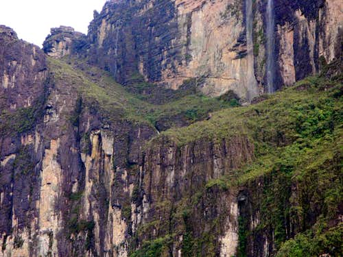 The ascent ramp up Roraima