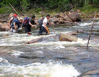 Major river crossing to Roraima