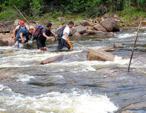 Major river crossing to Roraima