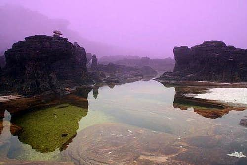 The jacuzzi on Roraima