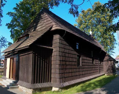 The Wooden church in Jurgów