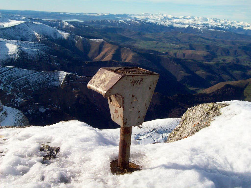 Mailbox of Castro Valnera