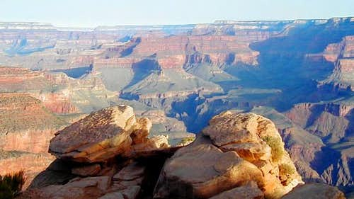 7000\' on the Kaibab Trail....