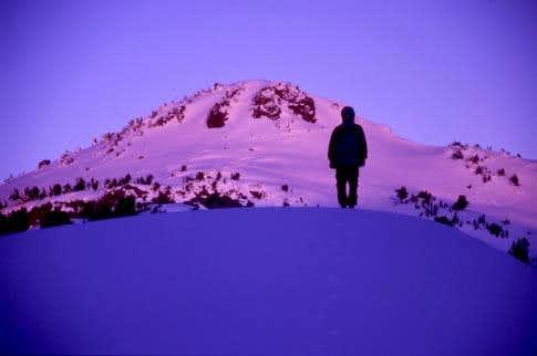 Contemplating Lassen Peak at...