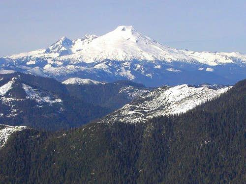 Mt. Baker from the summit of...